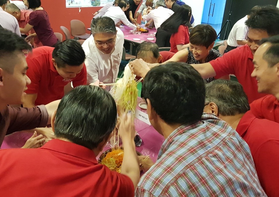 SAFEF's CNY 'Lo Hei' Dinner