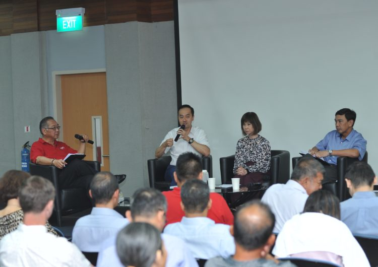 Townhall & Dialogue with SMS Dr Amy Khor & SMS Dr Koh Poh Koon