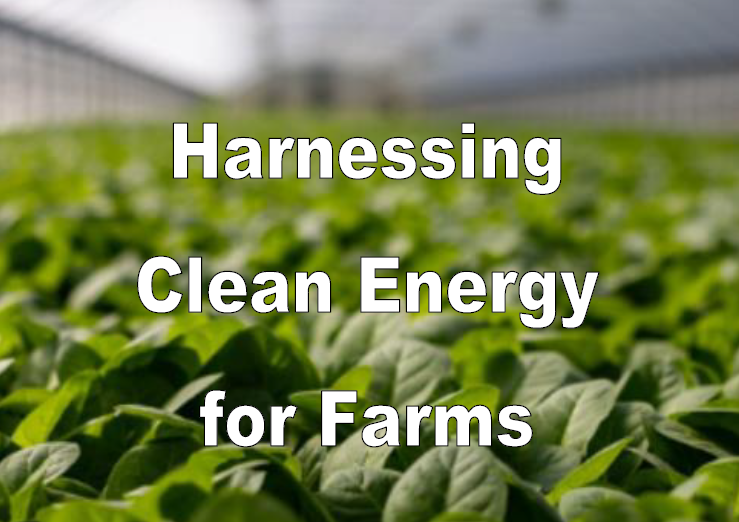 Webinar on Harnessing Clean Energy For Farms in Singapore