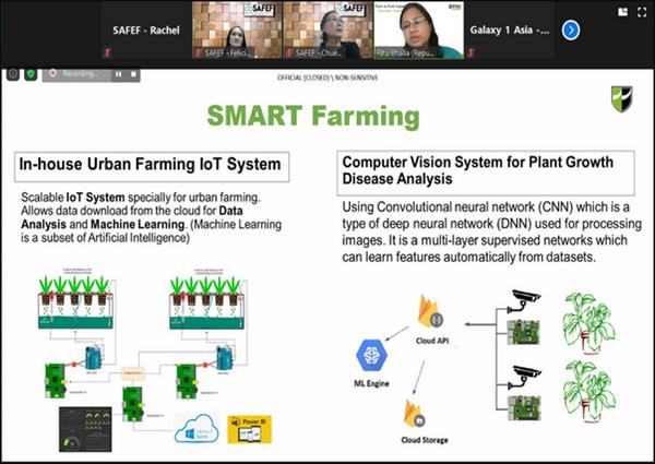 SAFEF's Technology-Matching Webinar